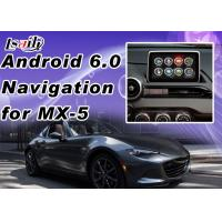 Quality Plug&Play Android Auto Interface For Mazda MX-5 2 3 6 CX -3 CX -5 Support Apps  Miracast WIFI Yandex Online Map for sale