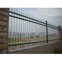 China PVC Coated Metal Balcony Railings , Zinc Steel Fence For Raiway / Highway on sale