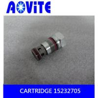 China TR100 manifold relief valve cartridge 15232705   15232706 on sale