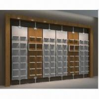 Quality Retail Store Wall Display with Lighting, Standard Wall Bay Unit for sale
