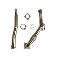 Quality 1.5mm 3.0 Inch VW Golf Downpipes for sale