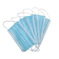 Quality Earloop Surgical EAC Disposable Medical Face Mask Nonwoven for sale