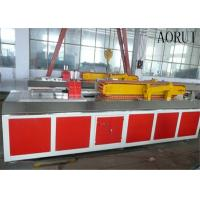Quality Faux Kitchen Plastic Profile Machinery Decorative Wood Plastic Production Line for sale