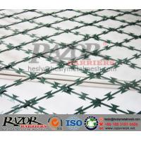 China PVC coated Welded Razor Mesh Fencing System on sale