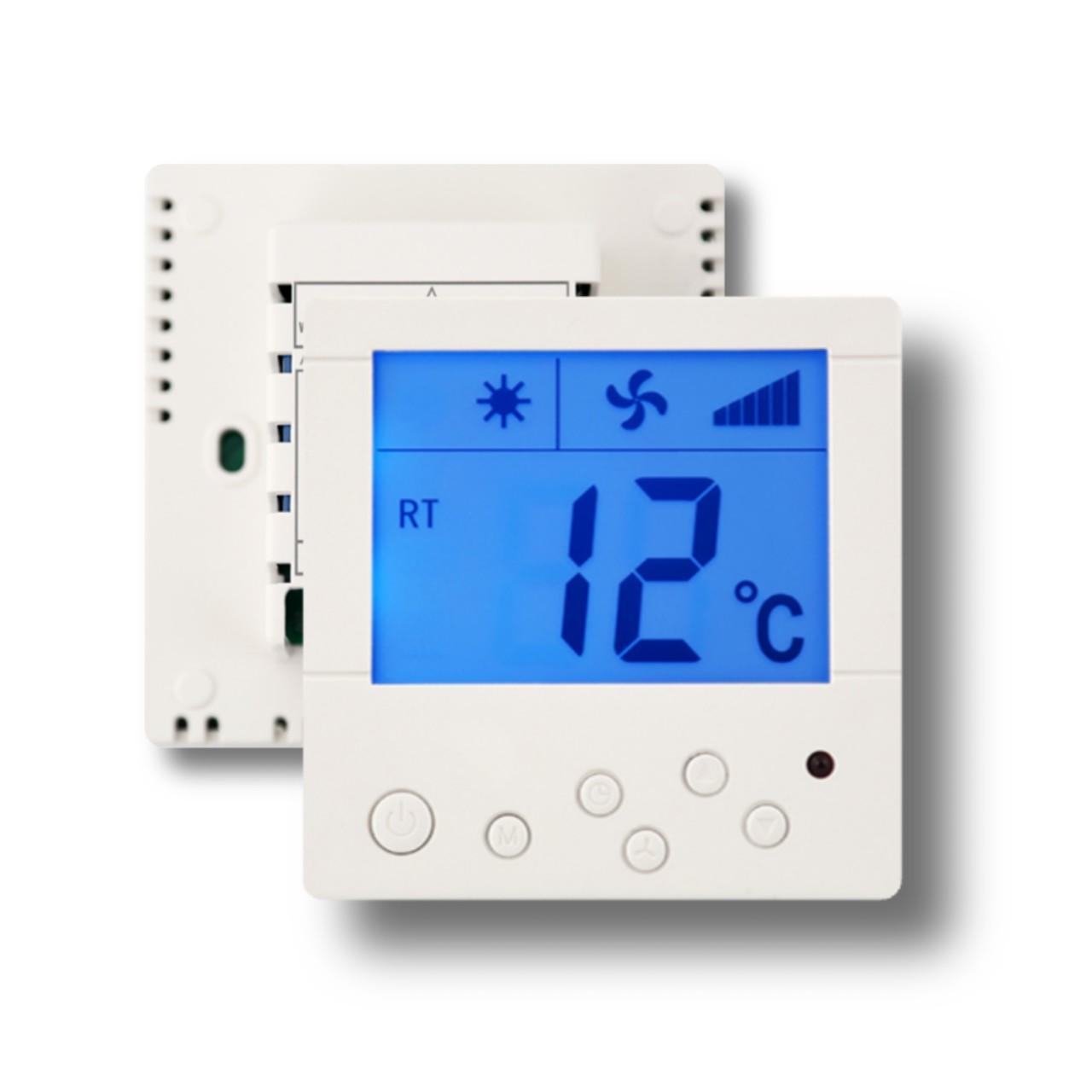 Quality 230VAC Central Air Conditioner Non Programmable Thermostat For Home / Hotel for sale