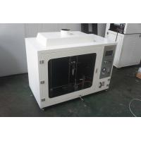Quality Computerized Vertical Combustion Testing Equipment With 50w Burner for sale