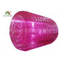 Buy cheap 2.4m Adults Pink Inflatable Water Zorb Roller For Grassland , Snow Land from wholesalers