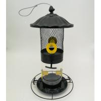 China Both nuts and seeds in one metal bird feeder  750g 4 feeding port on sale