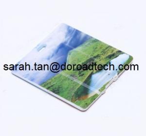 Buy cheap Plastic Mini Square Card USB Flash Drives, Real Capacity USB Memory Sticks product