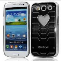 LED Flash Light Metal Case Cover for Samsung Galaxy S3 I9300 for sale