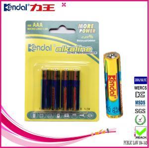 Buy cheap battery alkaline aaa lr03 am4 aaa 1.5v alkaline battery product