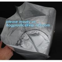 China Heavy Duty Plastic Shopping Bags Circle Round Bottom Liquid And Powder Drum Liner on sale