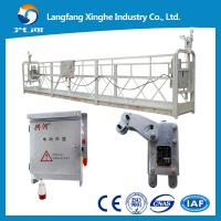 Buy counter weight suspended platform/ window cleaning cradle / suspended scaffolding at wholesale prices