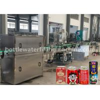 Buy cheap Juice / Milk Aluminum Can Filling Sealing Machine For Juice Beverage Factory from wholesalers