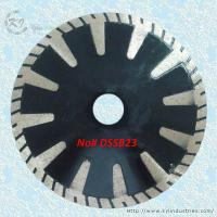 China Continuous Rim Deep Drop T-segmented Turbo Saw Blades - DSSB23 on sale