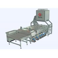 Quality PLC control 1600 mm Glass Washing Machine Before Silk Screen Printing Processing for sale