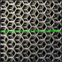 Quality hexagonal perforated wire mesh/perforated metal mesh/Hexagonal perforated metal for sale