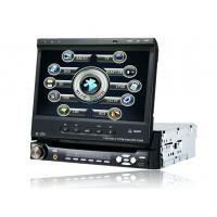 Quality Car Touch Screen One Din DVD with Bluetooth Player with TV,Detachable Panel, BT, RDS, IPOD for sale