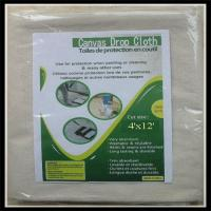Printed Logo Cotton Drop Cloth 6X9 Supplier/Provider, Cheap Price,Good Quality