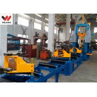 China Auto Combination Machine H Beam Welding Line With Assembly / Welding And Straightening on sale