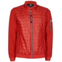 China Knitted / Woven Mens Stand Collar Jacket With Waterproof CF Zipper on sale
