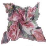 Quality Doigital Printing Silk Square Scarf (HP-C01) for sale