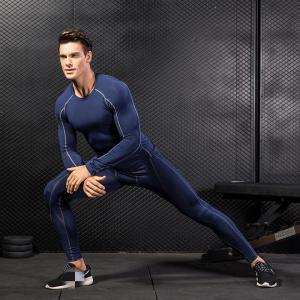 China Wholesale Cheap Gym Fitness Winter Men Pants Set Long Johns Underwear on sale