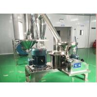 Quality Stainless Ultrafine Chemical Pulverizer , Sugar Pulverizer 100-400 Mesh for sale