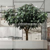 Environment Flexible Artificial Ficus Tree For School Decoration / Fake Ficus for sale