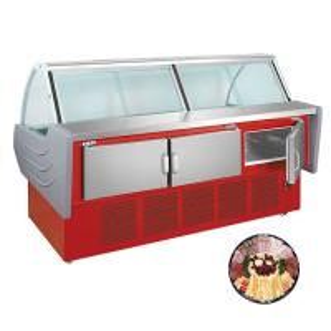 China Supermarket Deli Display Refrigerator, Supermarket Meat Dish Chiller on sale