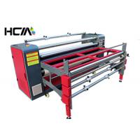 Quality Table Cloth Sublimation Heat Press Machine With Continuous Speed Adjustment System for sale