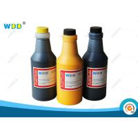 Quality Yellow Solvent Base Inkjet Printer Ink 473ml Replacement For Citronix Printer for sale