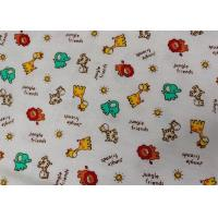 Buy Waterproof Colorful Soft Flannel Fabric Printed Super Soft Flannel Fabric at wholesale prices