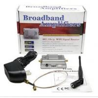 Quality Broadband amplifiers Wireless-N Wifi Repeater 2.4G 1W wifi booster 802.11b/g for sale