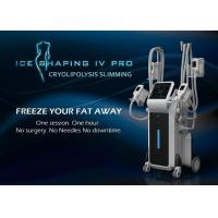 Quality UK hot four handles Cryolipolysis body shaping cool tech fat freezing machine with ISO Certificate for sale