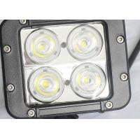 Quality 40W Offroad LED Work Lights , Beacon 4WD UTE SUV Jeep Driving Lights for sale