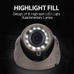 Quality DC12-24V Bus CCTV Camera Lcd Monitor 600TVL Horizontal Resolution Dustproof for sale