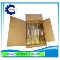 Quality Single Hole Brass Tube 1.2x400mmL Electrode Copper Pipe EDM Drill Parts for sale