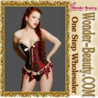 Quality Sexy Ladies Bow Corset for sale