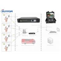 Quality Vehicle Mounted SD Analog Video Transmitter And Receiver In City Transmission 40W Powerful for sale