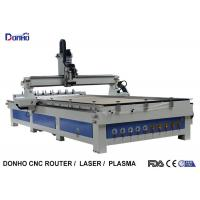 China ATC CNC Wood Milling Machine Craftsman CNC Router With Two Linear Tools Banks on sale