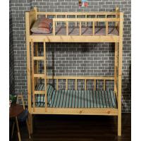Buy cheap Natural Kids Wooden Bunk Beds , Contemporary Eco - Friendly Wooden Loft Bed product