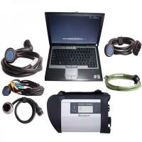 Quality V2017.07 MB Star Diagnosis SD Connect  Compact C4 MB Star C4SD CONNECT With Dell D630 Laptop for sale