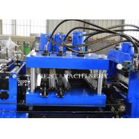 Quality 80-300 Mm Automatic C Z Purlin Roll Forming Machine PLC Control System for sale