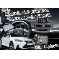 Quality Lexus CT200h 2011-2017 Car Navigation Box 2GB RAM fast speed video interface for sale