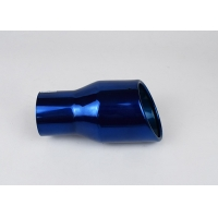 Quality Corrosion Resistance Blue SS304 Car Exhaust Muffler Tip for sale