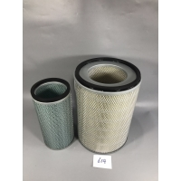China Heavey equipment air filters broad vehicle Bulldozer air filter of D60-12 on sale