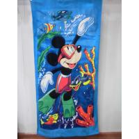 China cheap Beach towel 75*150 cotton terry towels in bulk on sale