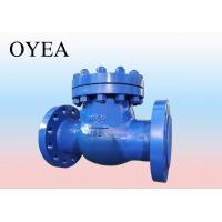 China ANSI API GB A216 Cast Steel Forged Steel Stainless Steel Flanged Weld Swing Lift  Check Valve on sale