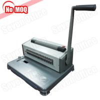 China 3 Years warranty desktop Manual perfect spiral binding machine for 46 loops coil on sale